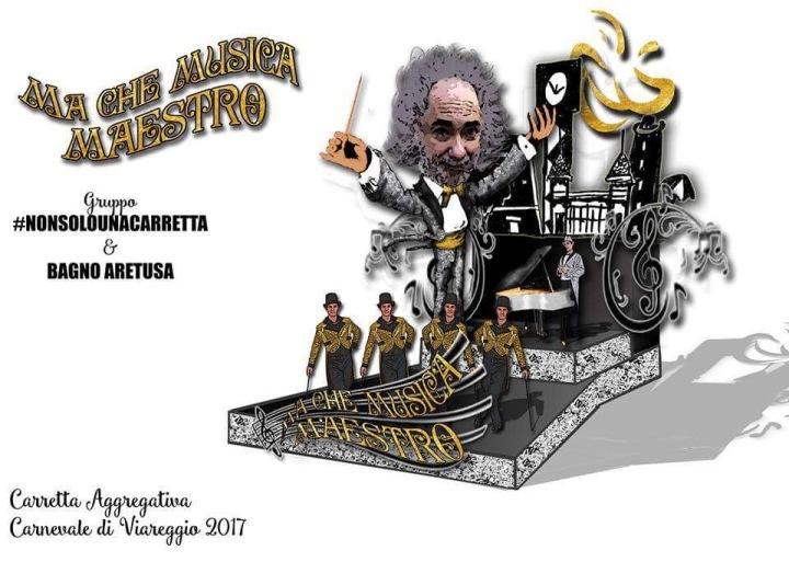 """Bozzetto """"Ma che musica maestro!"""" Carnevale 2017"""